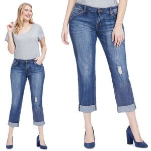 Kut from the Kluth Catherine boyfriend crop jeans